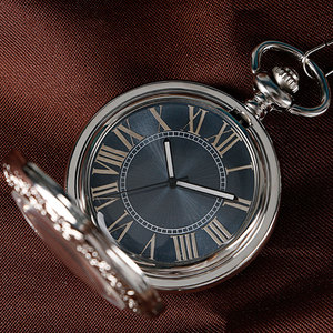 Image 3 - Xmas Gift Luxury Watch Men Relogio Digital Steampunk Pocket Watch Clock Vintage Self Wind Stylish Gray Dial Automatic Mechanical