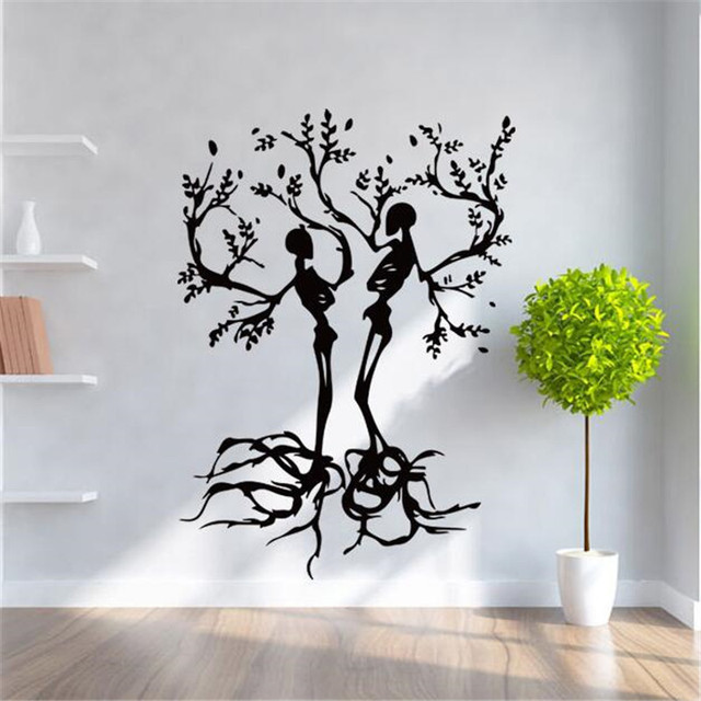 IDFIAF Free shipping Conceptual Tree Vinyl Wall Art / Stickers ...