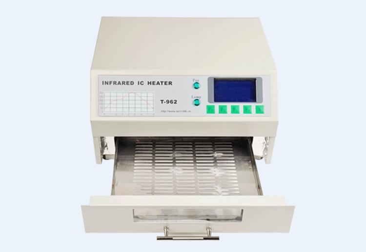 Infrarouge IC chauffage automatique four à reflux SMD BGA soudeuse à Reflow intelligente 800 W 110 V-220 V