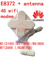 Unlocked Huawei E8372 + 4g antenna 4G usb wifi modem 4g usb wifi stick dongle 3g 4g car cpe pk e8278 E8372h-608 e8372s e8377