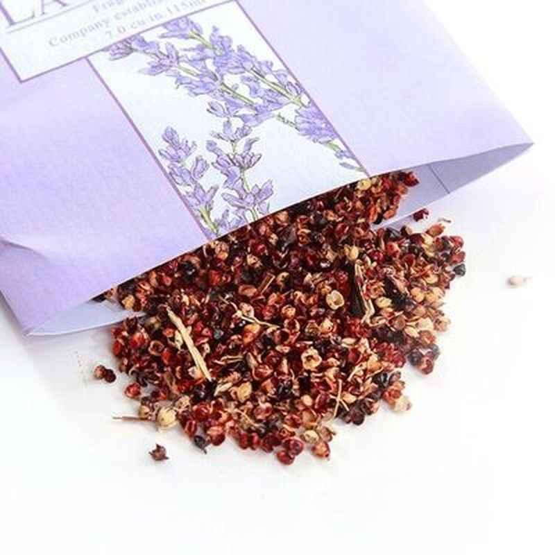 Natural Plant Perfume Sachet Bag Fresh Air Scented Fragrance Car Home Wardrobe Deodorization