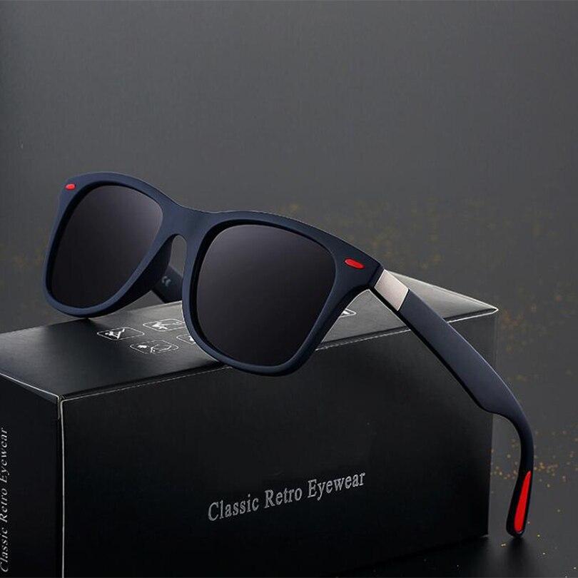 Sunglasses Men Polarized  Women Driving  Square Frame Sun Glasses Male Goggle Shades Coating Mirror Female UV400 Gafas De Sol