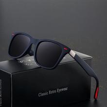 item image - Sunglasses Men Polarized  Women Driving  Square Frame Sun Glasses Male Goggle Shades Coating Mirror Female UV400 Gafas De Sol