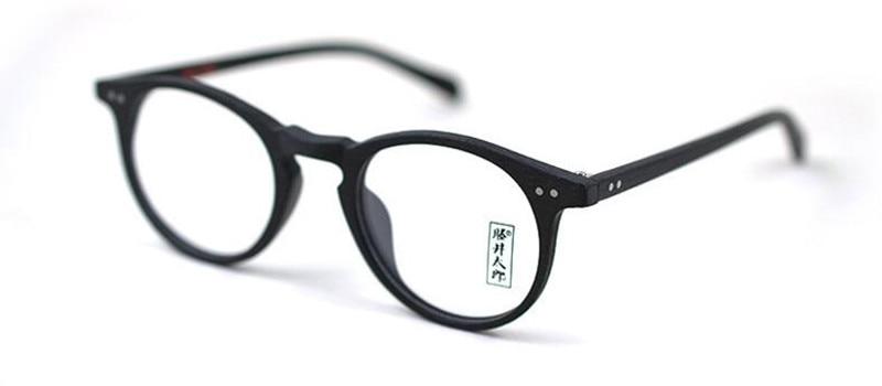 0b8a66faa6 Vintage Oval Round Handmade Eyeglass Frames unisex Full Rim Rx able ...