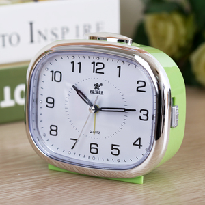 Image 2 - Small night lamp bedside alarm clock music creative personality of students are lazy children bedroom modern square table