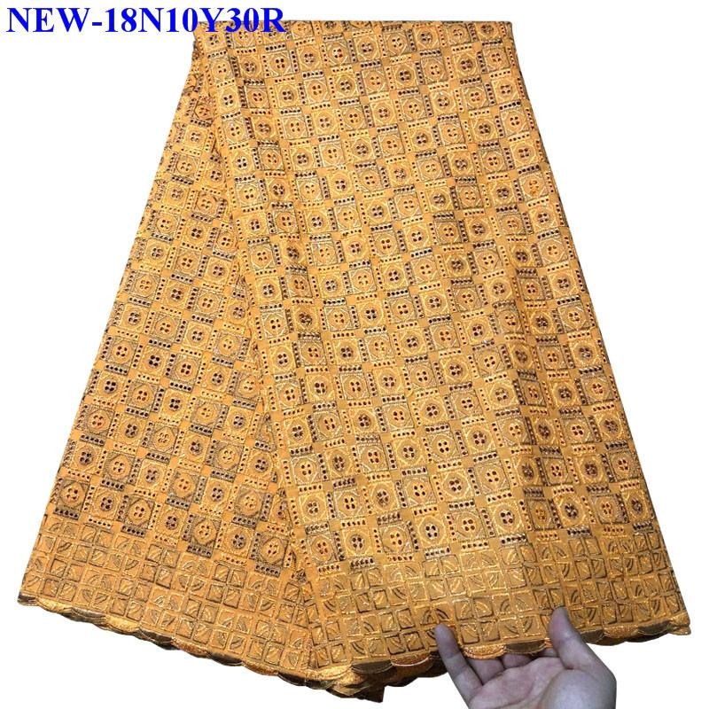 African Dry Lace Fabric Swiss Voile With Stones Swiss Cotton Lace High Quality 2018 African Lace