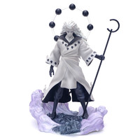 1/6 Statue Figures NARUTO Uchiha Madara Changeable Head Full Length Portrait PVC GK Action Figure Collectible Model Toy BOX D373