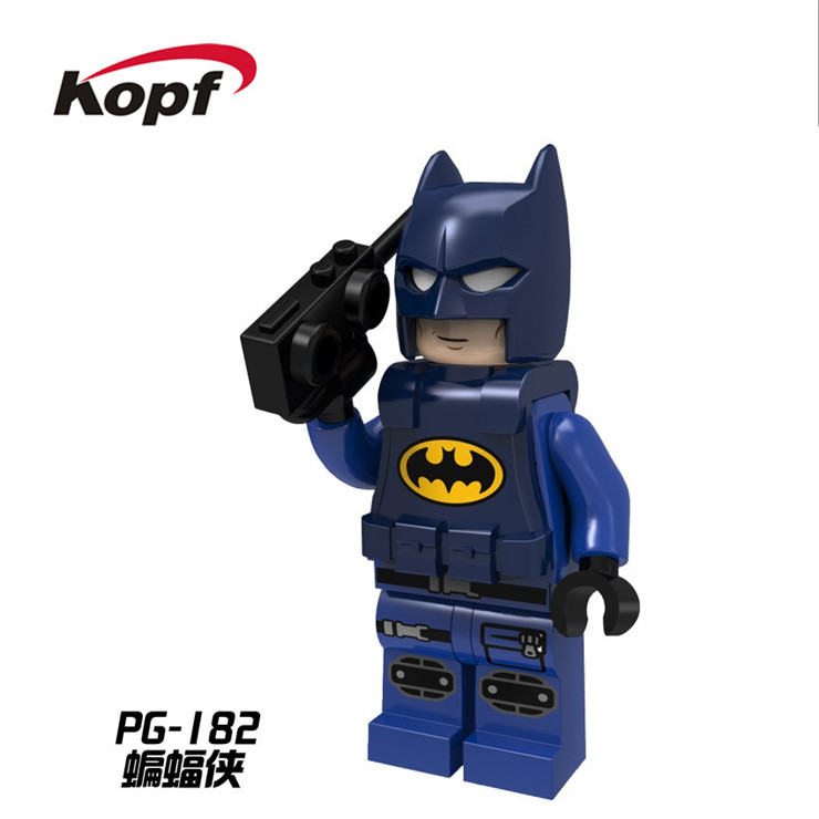 20Pcs PG180 Super Heroes Batman Movie Knight with Sword Justice League Bricks Action Figures Building Blocks Children Gift Toys