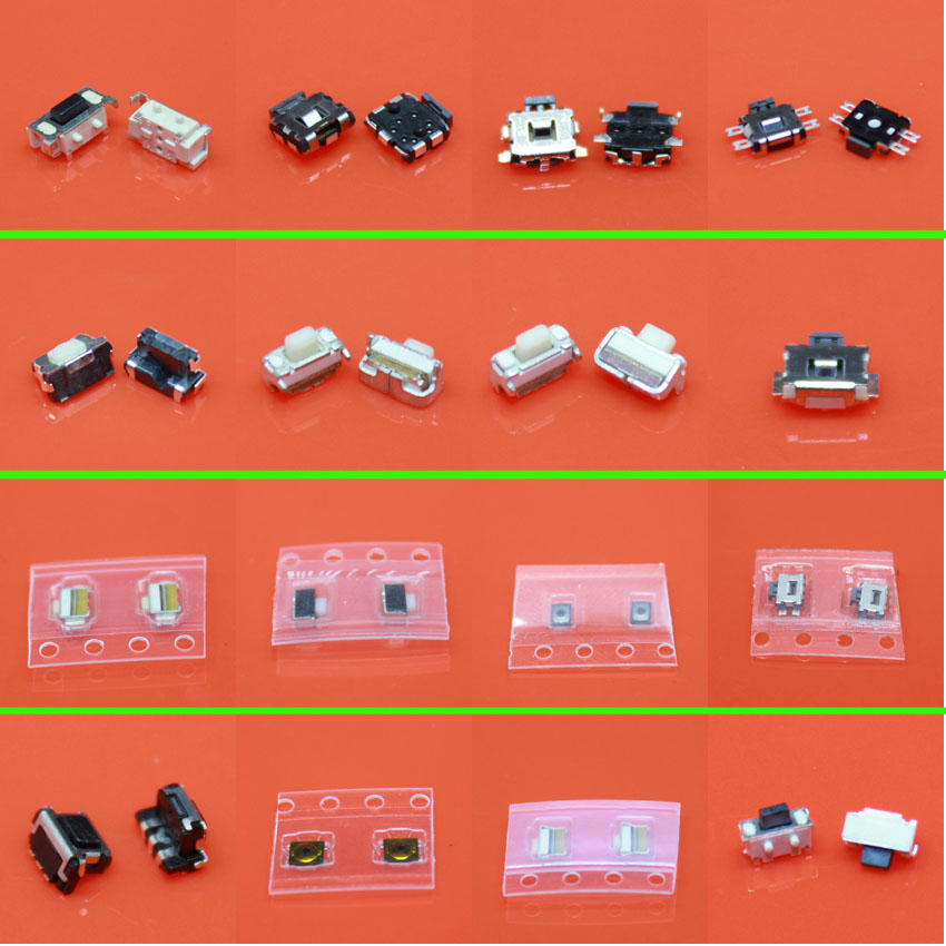 Tactile Button Micro Switch Button for Samsung S2 S3 S4 Note3 I8190 I8160 Nokia Lenovo HTC Blackberry iPhone 4G XiaoMi Moto 50pcs lot 6x6x7mm 4pin g92 tactile tact push button micro switch direct self reset dip top copper free shipping russia