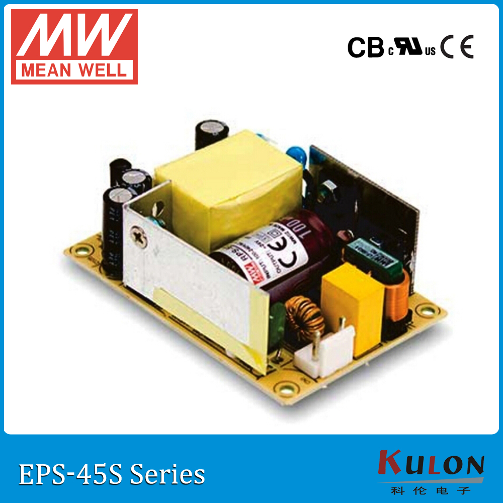 MW Mean Well EPS-45S-7.5 7.5V 5.4A 40W Single Output Switching Power Supply