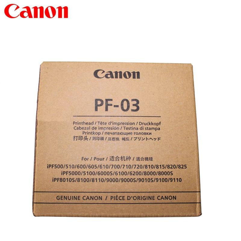 Genuine New PF-03 Printhead Print head Canon iPF500 iPF5000 iPF510 iPF5100 iPF600 iPF610 iPF6100 iPF700 iPF710 iPF8000 iPF8000S original best price ipf printer pf 03 print head for canon ipf5000 5100 6000s 6100 6200