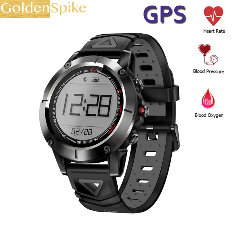 G01 PK S928 Sport Smart Watch G-sensor GPS Outdoor Heart Rate Monitor Smart Wristband for Smartwatch Android IOS Smart Phone цена