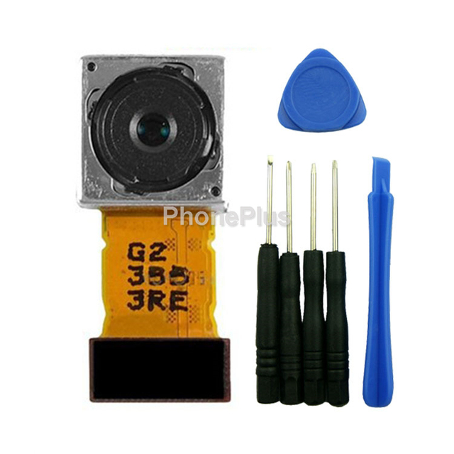 Para sony xperia z2 l50 l50w d6503 d6502 d6543 trasero cámara Trasera Módulo Gran Cámara Principal Flex Cable de Cinta de Reparación parte