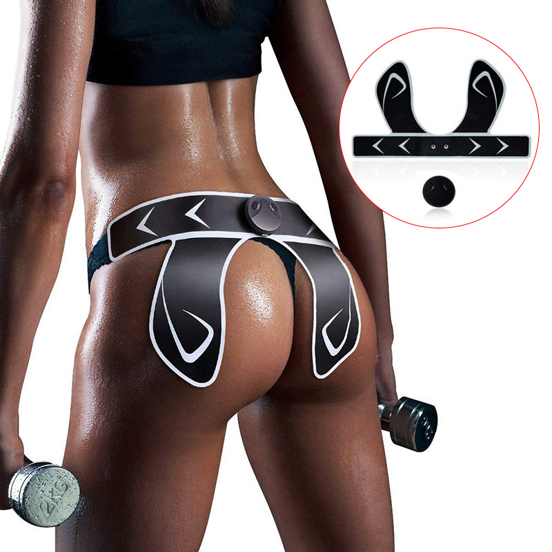 2019 HOT SALE Hip Trainer Muscle Stimulator ABS Buttocks Fitness Butt Lifting Slimming Massager Pads ASD88