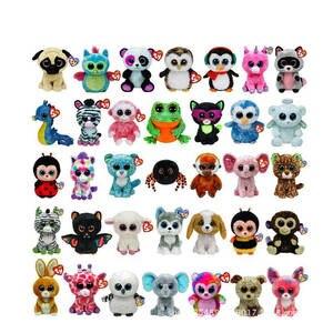 122f083a915 10pcs lot Ty Beanie Boos Toy Doll Baby Girl Birthday Gift 15cm Big Eyes  Stuffed Animal Doll Unicorn Owl Leopard Elephant Huskey