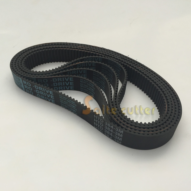 HTD Timing Belt L 384- 3M 3mm Pitch 15mm Wide 128 Tooth DIY CNC Router Laser Robotics 3D Co2 Laser Engraver Cutter