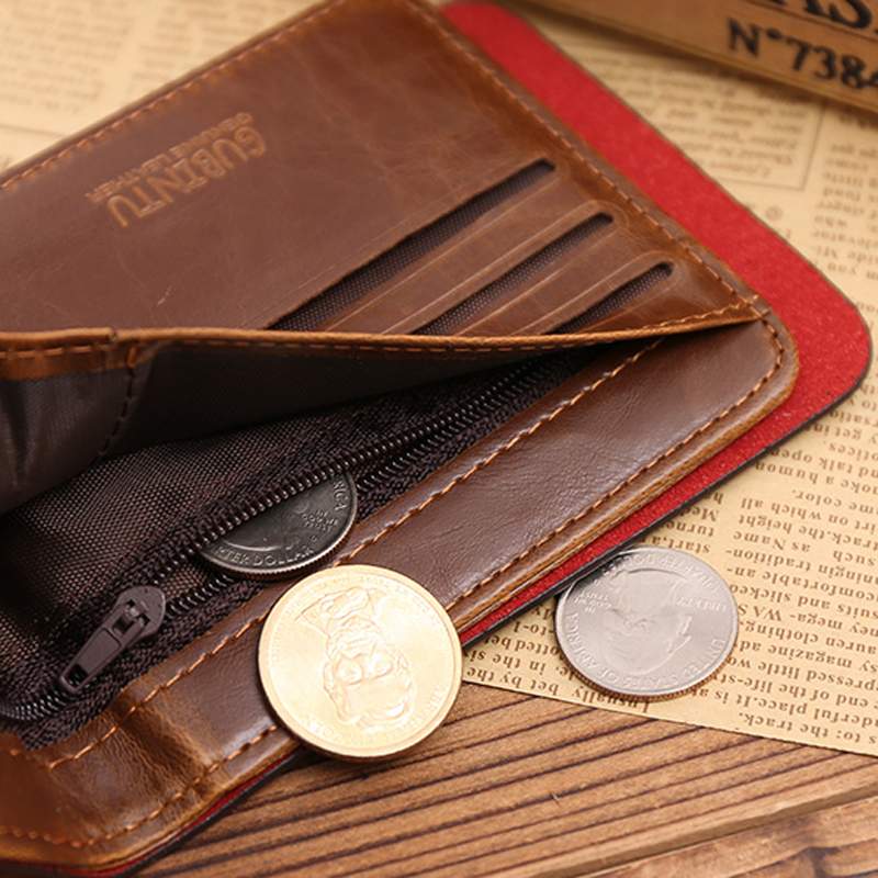 Creditcard Porte Carte Cardholder For Bank ID Business Credit Card Holder Case Men Wallet Male Bag Small Purse Pocket