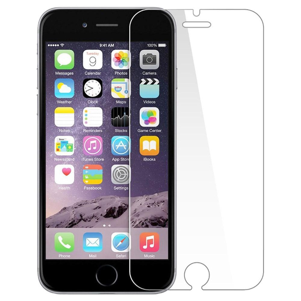 2 дана / лот 0,26 мм 9H Айфон 7 6 6S Plus 5 5S SE - Мобильді телефондарға арналған аксессуарлар мен бөлшектер - фото 1