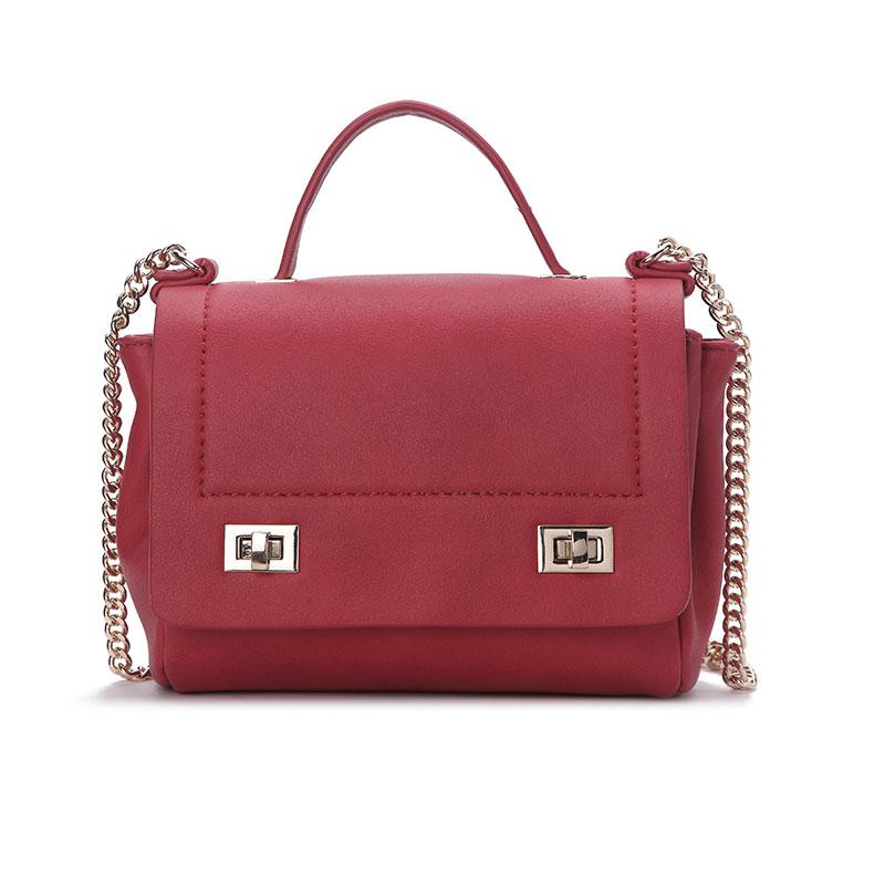 ФОТО Women Fashion Design Chain shoulder bag women handbags Girl Lady PU Leather Messenger Clutch casual Doctor bag Bolsa Feminina