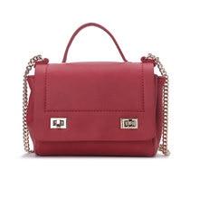 Women Fashion Design Chain shoulder bag women handbags Girl Lady PU Leather Messenger Clutch casual Doctor bag Bolsa Feminina