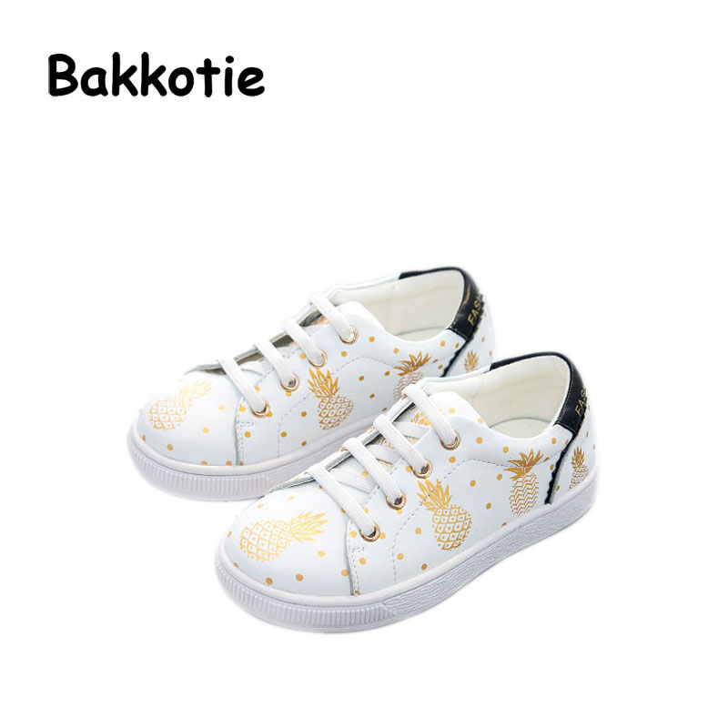 Bakkotie 2017 Autumn Baby Boy Shoe Genuine Leather Kid Girl Brand Leisure Sneaker Pineapple Breathable Child Shoe Soft Toddler new babyfeet toddler infant first walkers baby boy girl shoe soft sole sneaker newborn prewalker shoes summer genuine leather