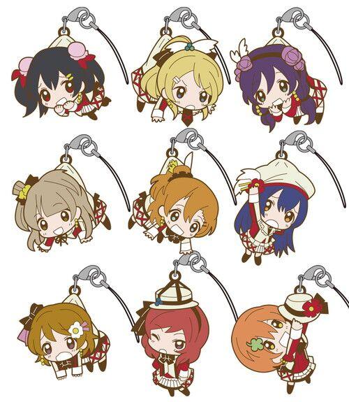 Kotori Nico Eli Rin Umi Maki Anime Love Live! Lovelive! Hanging Version Japanese Rubber Keychain шорты мужские lasting 6262 nico