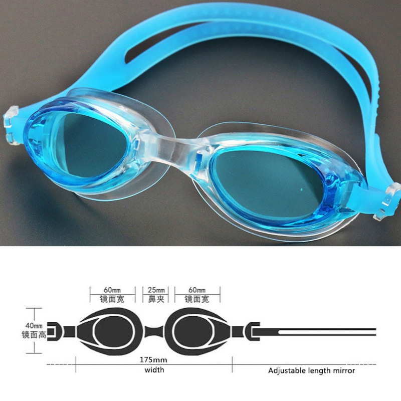 Waterproof Anti Fog UV Adult Professional Colored Lenses Diving Swimming Glasses Eyewear Swim Goggles Gafas Natacion Newest