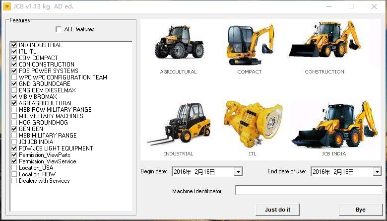 JCB SPP Parts Catalog 1.13 keygen For SPP 1.13-1.18