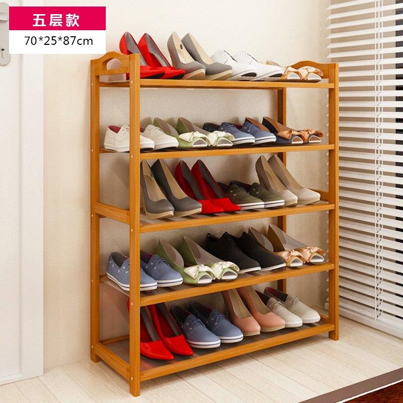 Shoe Cabinet Nan Bamboo Racks