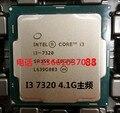 Новый оригинальный Intel i3 7320 однокристальный двухъядерный четыре потока 4.1 ГГц ПРОЦЕССОР LGA1151 официальная версия
