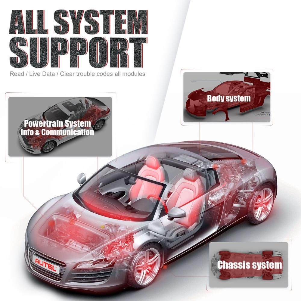 Autel MaxiPRO MP808K автомобильный диагностический инструмент Автоматическое кодирование ключей OE-level Batter Than autel MP808 launch x431 pro
