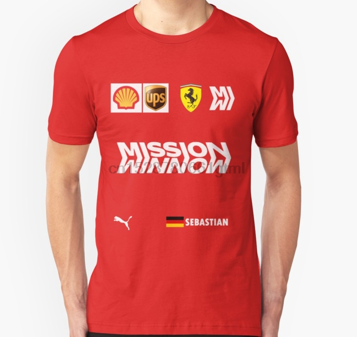 Men Short Sleeve Tshirt Combination Of Vettel Unisex T Shirt Women T-shirt