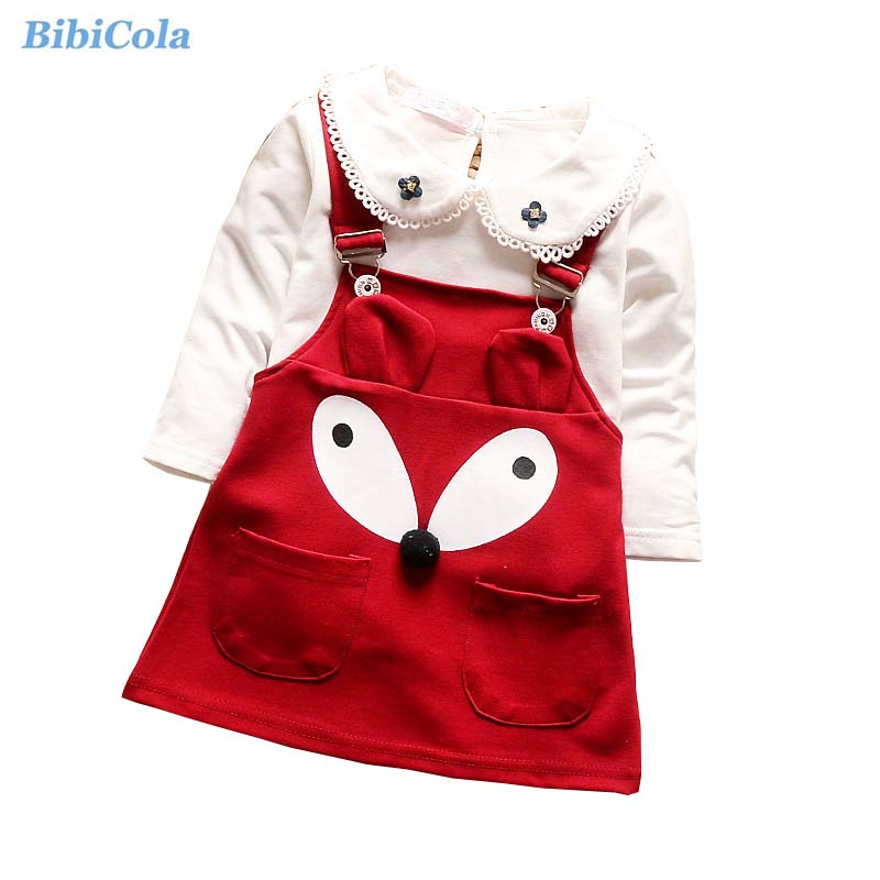 BibiCola Baby Girl Clothing Set Toddler Girls Spring Fashion Clothes Set Bebe Girl 2PCS Sport Children Girls Christmas Tracksuit шорты troll troll tr798emiaw63