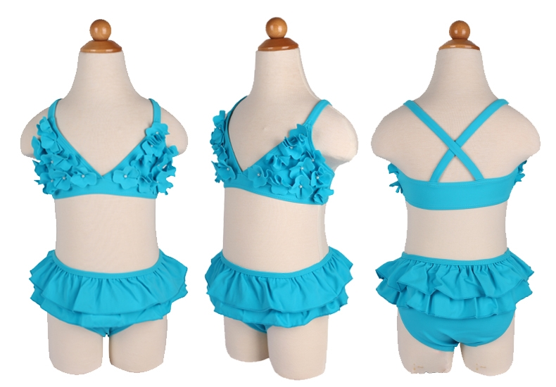 3ff7d731ffe 2015 Landubi Hot Sale Girls Swimwear Child Two Piece Swimsuits ...