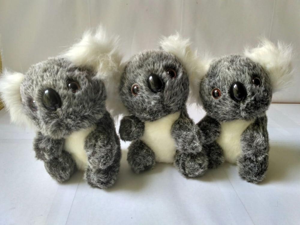 10 stücke viel mini niedlichen plüsch grau koala spielzeug stuffed koala puppe geschenk ca. 12 cm-in Gefüllte & Plüschtiere aus Spielzeug und Hobbys bei  Gruppe 1
