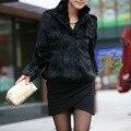 Escudo de piel falsa chaleco poncho invierno fourrure chaleco negro whiter warmwaistcoats chaleco básico abrigos chaqueta de piel fourrure visón zorro femme