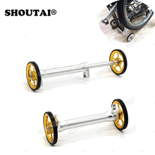 Big sale Folding Bicycle Racks Easy Wheel Extension Block Telescopic Rod for Brompton
