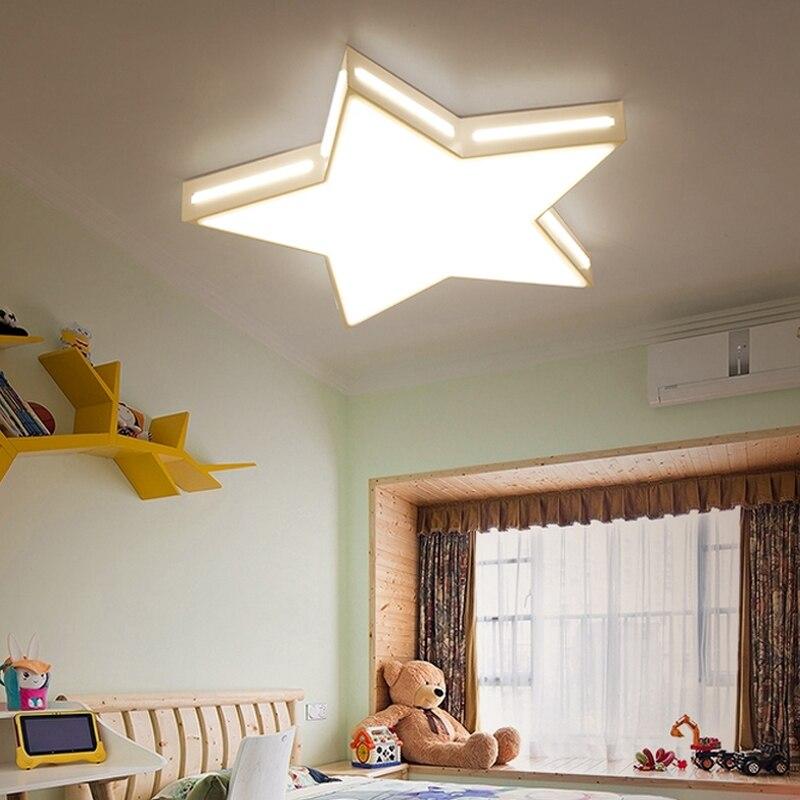 US $70.38 31% OFF|Sterne Moderne Led deckenleuchten Schlafzimmer Kinder  Wohnzimmer Küche Restaurant Flur Decke Lampe Leuchten 110 220V-in ...