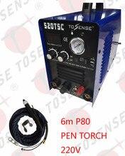 Longer P80 Torch Straight TIG MMA CUT ARC Welding Machine CNC pilot arc 220V Single Voltage