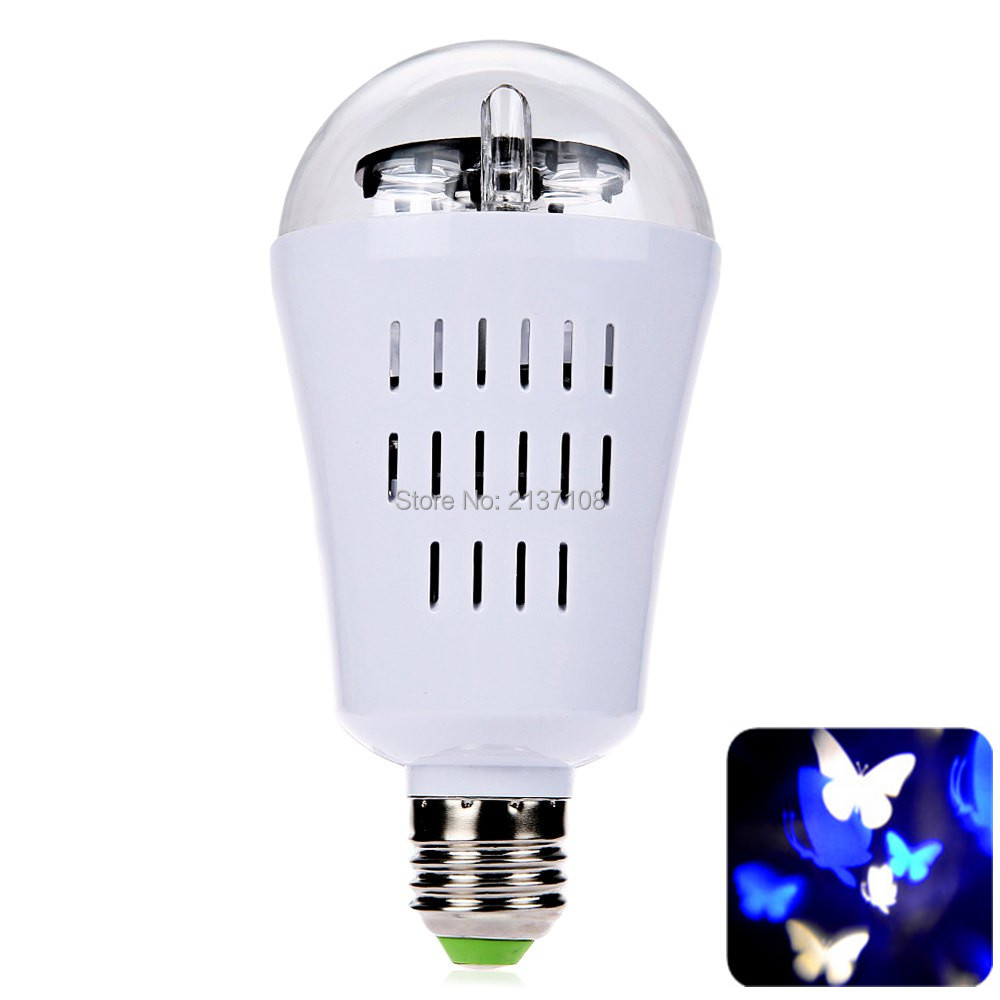 RGBW 4W LED Projector Christmas Light Butterfly DJ Disco Home Party KTV Bar Garden Room Holiday Tree Free Shipping