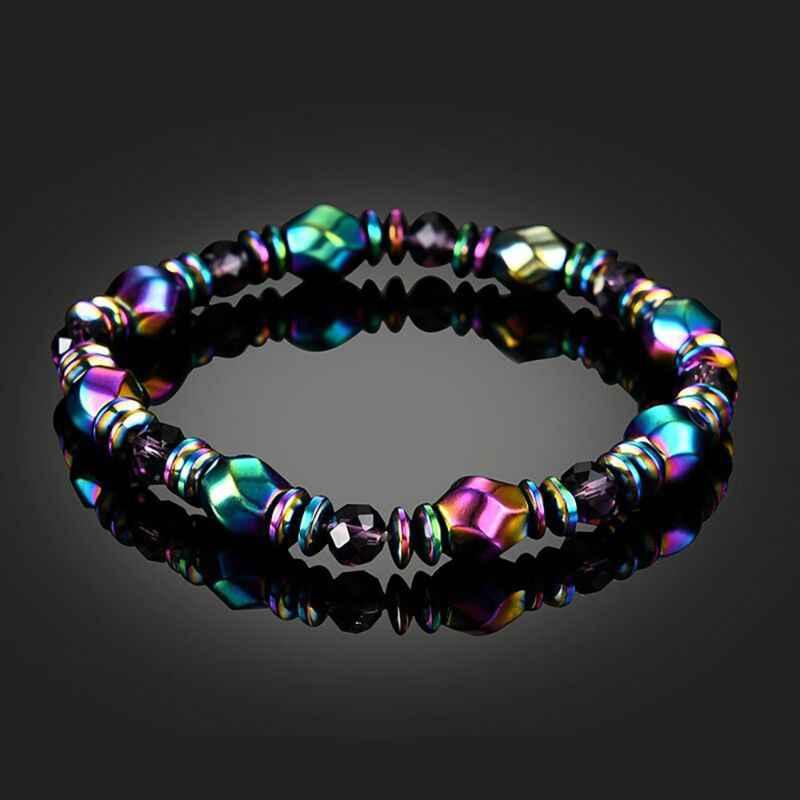 2019 Chakra magnétique Yoga guérison équilibre Supernatural lave Reiki pierres perles Bracelet femmes bijoux hommes mode