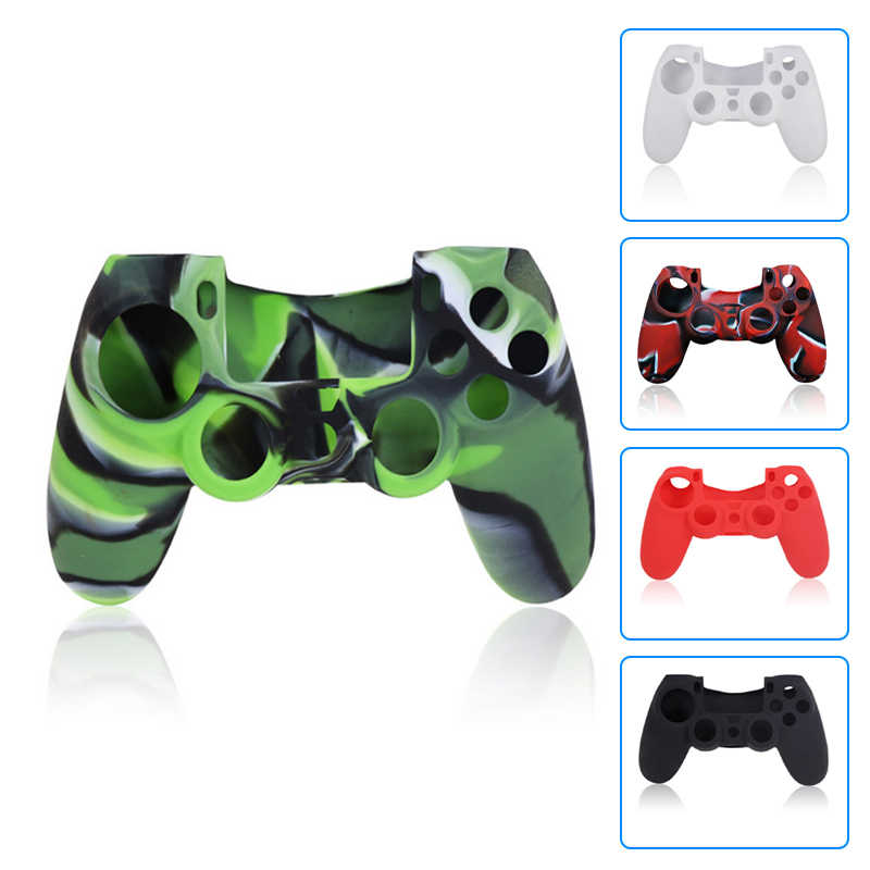 Joystick Case for Sony PS 4 PlayStation 4 Skin Play Station PS 4 Dualshock 4 Controller Console Controller Cover Accessories