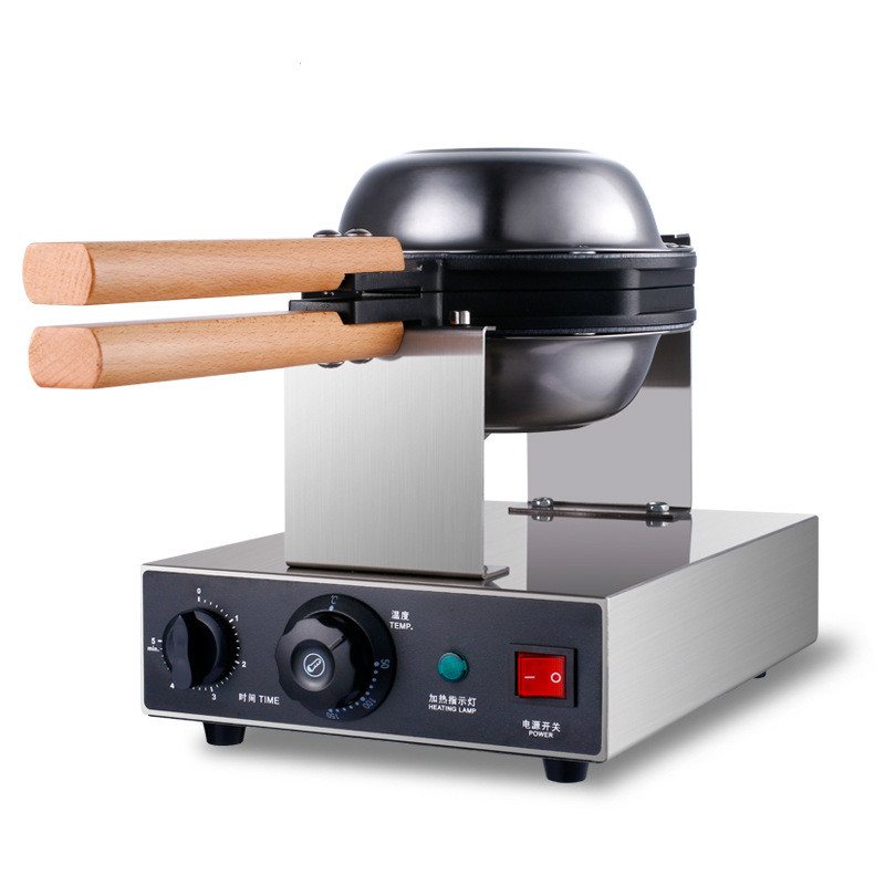 220V/110V commercial electric Chinese Hong Kong eggettes puff cake waffle iron maker machine bubble egg cake oven цена и фото