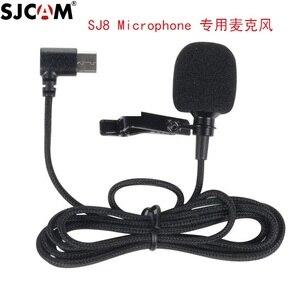 Image 2 - מקורי SJCAM SJ8 A10 אביזרי Tepy C חיצוני מיקרופון עבור SJ8 פרו/בתוספת/אוויר SJ9 שביתה/מקס פעולה מצלמה אבזרים