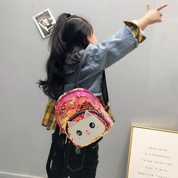 7ef8fee56692 Product Offer. Детский рюкзак милый кот небольшой рюкзак для мальчиков и  девочек ...
