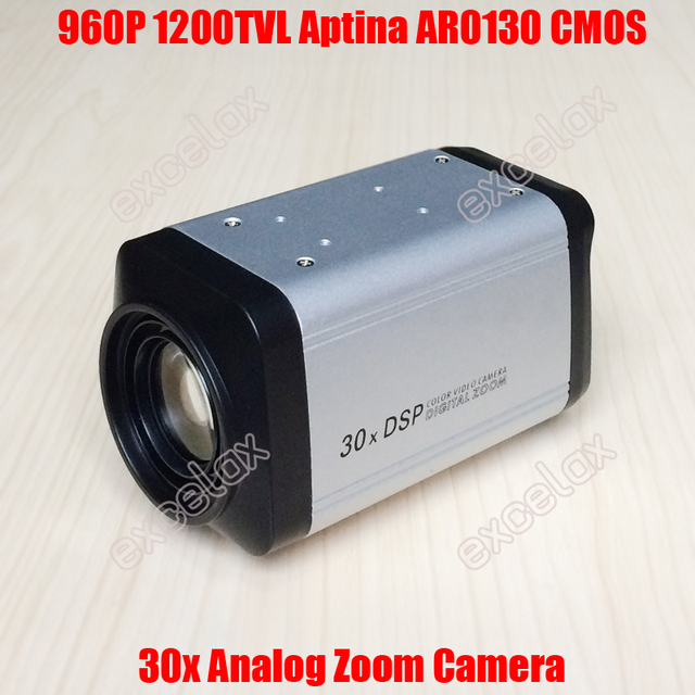 2e18a9a0de2 960P 1.3MP 1200TVL Analog 30x Optical AR0130 CMOS CCTV Zoom Camera IR CUT  ICR 1.3 Megapixel Motorized Varifocal Lens Auto Focus