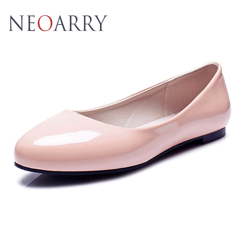 NEOARRY Flat Shoes Spring Autumn Fashion Round Toe Shallow mouth casual and comfortable Big yards Women's shoes 2017 New CC3 e hot sale wholesale 2015 new women fashion leopard flat shallow mouth shoes lady round toe shoes