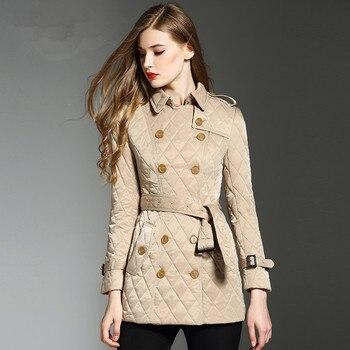 KMETRAM Winter Woman Coats 2019 Streetwear Parka Women Jacket Vintage Long Coat Female Parkas Down Cotton Casaco Feminino MY3337