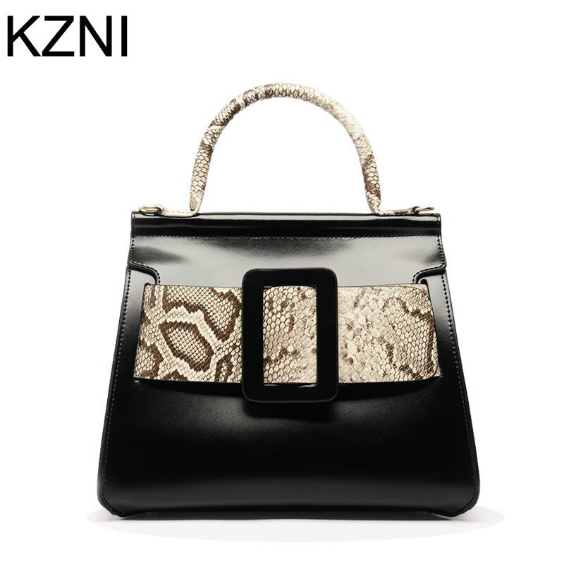 KZNI Genuine Leather Purse Crossbody Shoulder Women Bag Clutch Female Handbags Sac a Main Femme De Marque L112809 kzni genuine leather purse crossbody shoulder women bag clutch female handbags sac a main femme de marque l123103