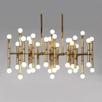hanging lights for dining room Jonathan Adler Meurice Post modern design lamp pendant lighting Iron Tube led pendant lights